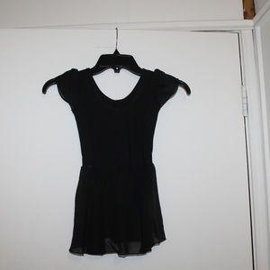 MDNMD Leotard Dance Ballet Black AM000058